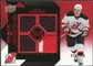 2008/09 Upper Deck Black Diamond Jerseys Quad Ruby #BDJZP Zach Parise /100