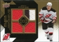 2008/09 Upper Deck Black Diamond Jerseys Quad Gold #BDJZP Zach Parise /25