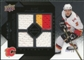 2008/09 Upper Deck Black Diamond Jerseys Quad Onyx #BDJDP Dion Phaneuf /10