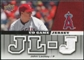 2009 Upper Deck UD Game Jersey #GJJO John Lackey