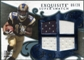 2008 Upper Deck Exquisite Collection Super Swatch Blue #SSAV Donnie Avery /20