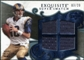 2008 Upper Deck Exquisite Collection Super Swatch Blue #SSBU Marc Bulger /20