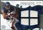 2008 Upper Deck Exquisite Collection Super Swatch Blue #SSMF Matt Forte /20