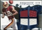 2008 Upper Deck Exquisite Collection Super Swatch Blue #SSMK Malcolm Kelly /20