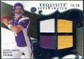 2008 Upper Deck Exquisite Collection Super Swatch Blue #SSJDB John David Booty /20