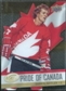 2008/09 Upper Deck Ice Pride of Canada #GOLD5 Darryl Sittler