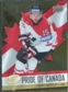 2008/09 Upper Deck Ice Pride of Canada #GOLD16 Dany Heatley