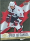 2008/09 Upper Deck Ice Pride of Canada #GOLD20 Steve Yzerman