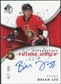 2008/09 Upper Deck SP Authentic #236 Brian Lee RC Autograph /999