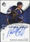 2008/09 Upper Deck SP Authentic #239 Patrik Berglund RC Autograph /999