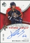 2008/09 Upper Deck SP Authentic #241 Michael Frolik RC Autograph /999