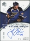 2008/09 Upper Deck SP Authentic #243 T.J. Oshie RC Autograph /999