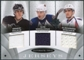 2008/09 Ultimate Collection Jerseys Trios #UJ3RSN Evgeni Malkin lya Kovalchuk Alexander Ovechkin /25