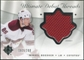 2008/09 Upper Deck Ultimate Collection Debut Threads #DTMB Mikkel Boedker /200