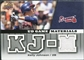 2009 Upper Deck UD Game Materials #GMKJ Kelly Johnson