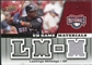 2009 Upper Deck UD Game Materials #GMLM Lastings Milledge