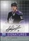 2008/09 Upper Deck Be A Player Signatures #SAK Anze Kopitar Autograph