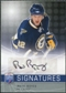 2008/09 Upper Deck Be A Player Signatures #SBB Brad Boyes Autograph
