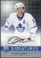 2008/09 Upper Deck Be A Player Signatures #SDO Dominic Moore Autograph