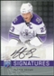 2008/09 Upper Deck Be A Player Signatures #SDU Dustin Brown Autograph