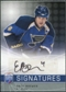 2008/09 Upper Deck Be A Player Signatures #SEB Eric Brewer Autograph