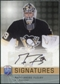 2008/09 Upper Deck Be A Player Signatures #SFL Marc-Andre Fleury Autograph