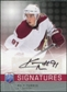 2008/09 Upper Deck Be A Player Signatures #SKT Kyle Turris Autograph