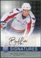 2008/09 Upper Deck Be A Player Signatures #SLA Brooks Laich Autograph