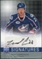 2008/09 Upper Deck Be A Player Signatures #SMC Mike Commodore Autograph