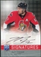 2008/09 Upper Deck Be A Player Signatures #SMF Mike Fisher Autograph