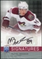 2008/09 Upper Deck Be A Player Signatures #SMI Mikkel Boedker Autograph