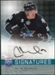 2008/09 Upper Deck Be A Player Signatures #SMM Milan Michalek Autograph
