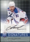 2008/09 Upper Deck Be A Player Signatures #SMN Markus Naslund Autograph