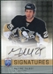 2008/09 Upper Deck Be A Player Signatures #SMT Maxime Talbot Autograph