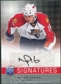 2008/09 Upper Deck Be A Player Signatures #SNH Nathan Horton Autograph