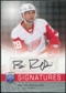 2008/09 Upper Deck Be A Player Signatures #SRA Brian Rafalski Autograph
