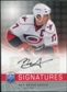 2008/09 Upper Deck Be A Player Signatures #SRB Rod Brind`Amour Autograph