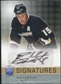 2008/09 Upper Deck Be A Player Signatures #SRG Ryan Getzlaf Autograph