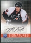 2008/09 Upper Deck Be A Player Signatures #SRI Mike Richards SP Autograph