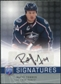 2008/09 Upper Deck Be A Player Signatures #SRT Raffi Torres Autograph