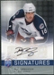 2008/09 Upper Deck Be A Player Signatures #SRU R.J. Umberger Autograph