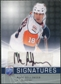 2008/09 Upper Deck Be A Player Signatures #SSI Mike Sillinger Autograph