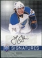 2008/09 Upper Deck Be A Player Signatures #STO T.J. Oshie Autograph