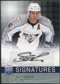 2008/09 Upper Deck Be A Player Signatures #SWS Shea Weber Autograph