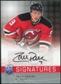 2008/09 Upper Deck Be A Player Signatures #SZP Zach Parise Autograph