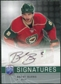 2008/09 Upper Deck Be A Player Signatures #SBUR Brent Burns Autograph