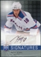 2008/09 Upper Deck Be A Player Signatures #SSTA Marc Staal Autograph