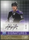 2008/09 Upper Deck Be A Player Signatures Player's Club #SAK Anze Kopitar Autograph /15