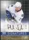 2008/09 Upper Deck Be A Player Signatures Player's Club #SHS Henrik Sedin Autograph /15