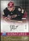 2008/09 Upper Deck Be A Player Signatures Player's Club #SMU Peter Mueller Autograph /15